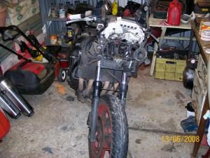 Stripped CBR1000F