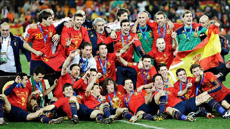 Spain - World Cup Champions 2010