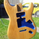 Squier Body Front 50 percent done