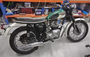 1966 Triumph Tiger T100